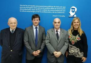 Miembros de la Comisión Organizadora